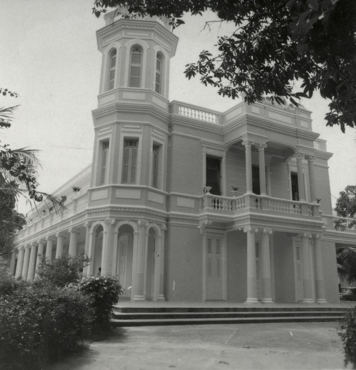 Fachada da Reitoria, 1963.