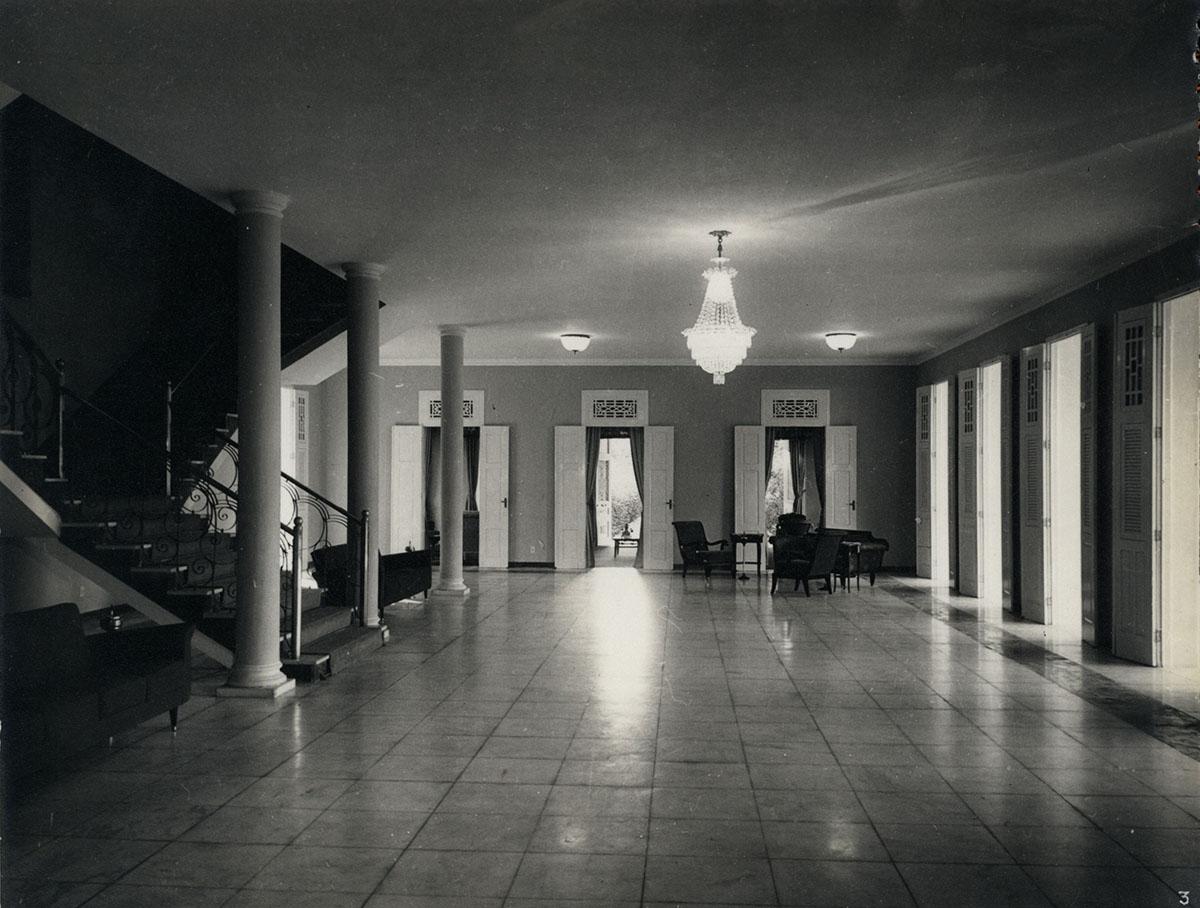 Salão Nobre da Reitoria, 1961.
