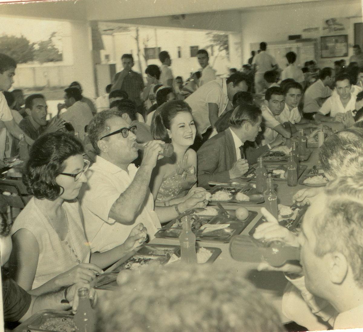 Clube do Estudante Universitário, homenagem ao Reitor Antônio Martins Filho, 12/06/1965.