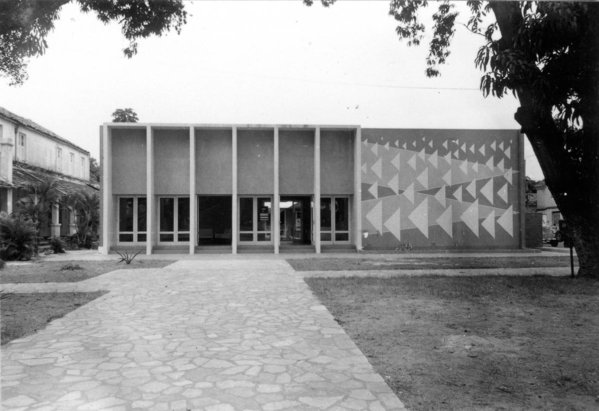 Sede nova do MAUC, 1966.