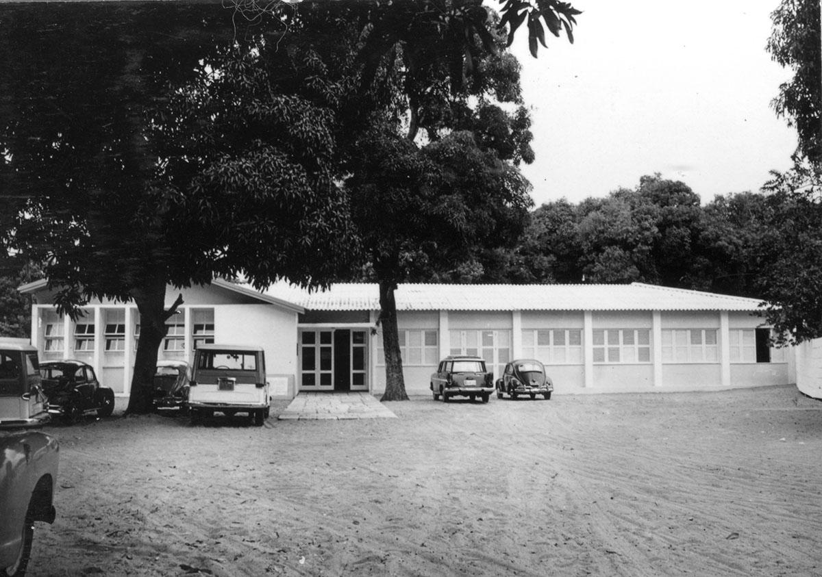 Escola de Arquitetura, 1966.