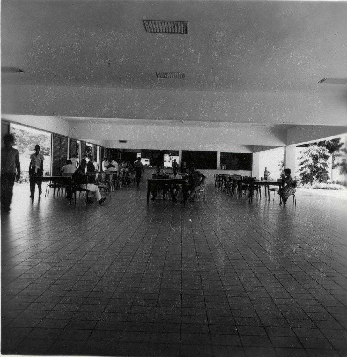Restaurante Universitário, 1962.