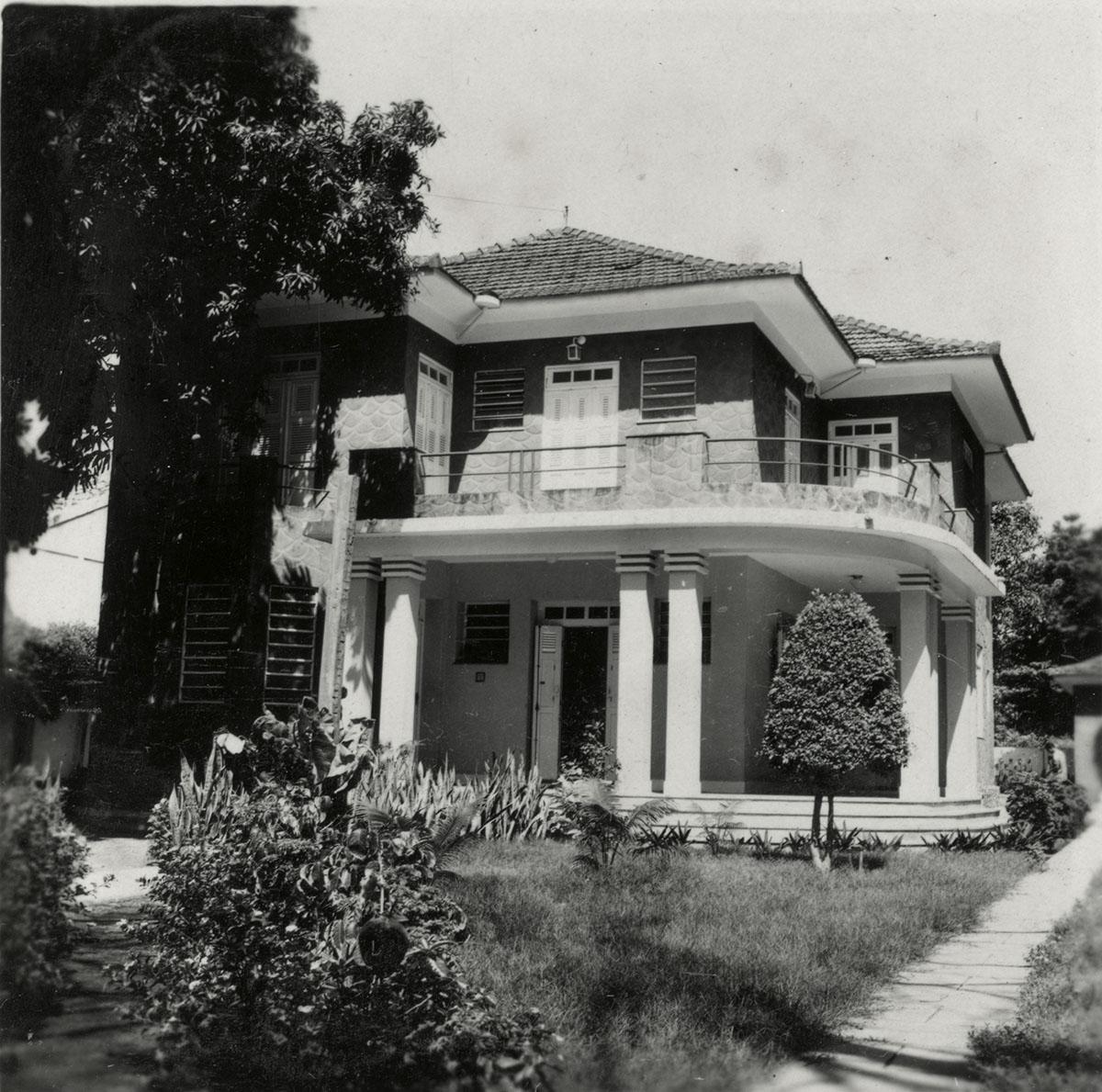 Centro de Cultura Hispânica, antiga morada do jurista e político Edgar Arruda, atualmente Rádio Universitária, 1962.