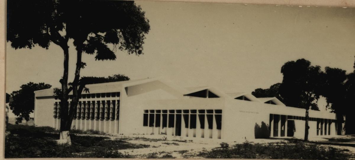 Sede atual da Imprensa Universitária, 1967.