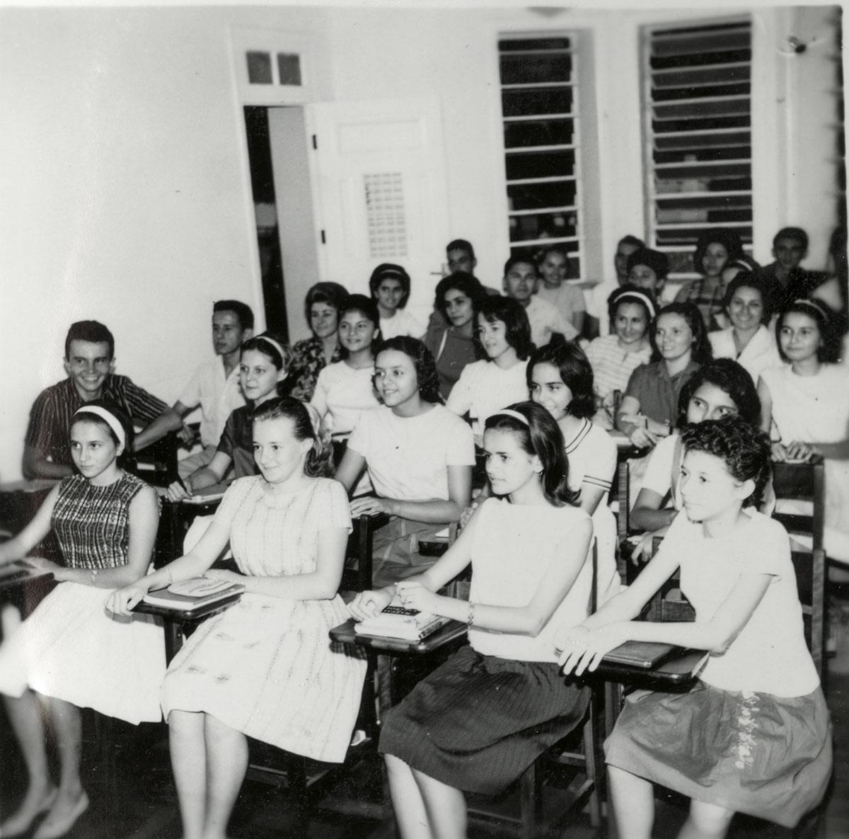 Sala de Aula, Centro de Cultura Hispânica, 1962.