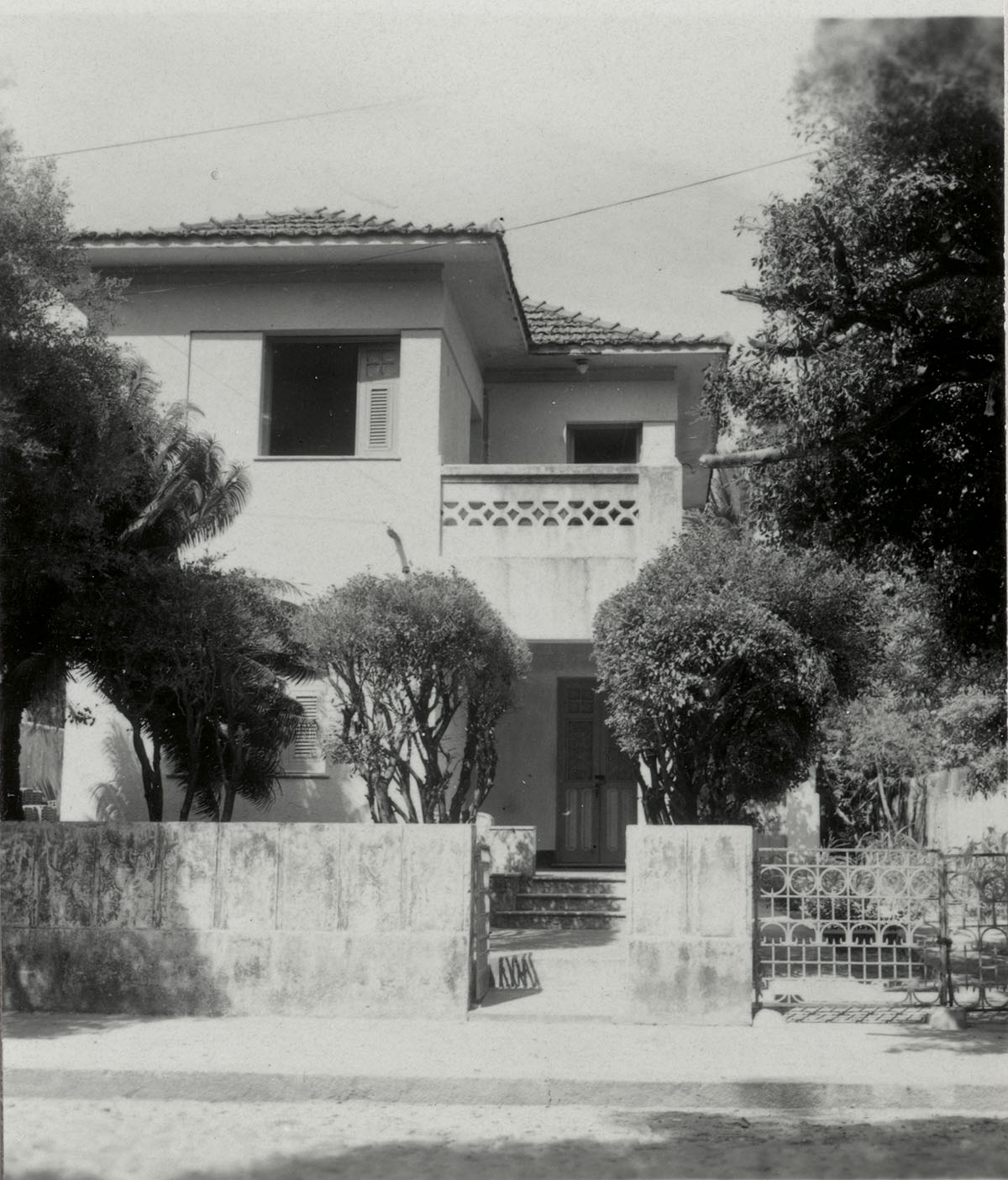 Centro de Cultura Italiana, à época, ocupando o atual Casa de Cultura Portuguesa - 1964