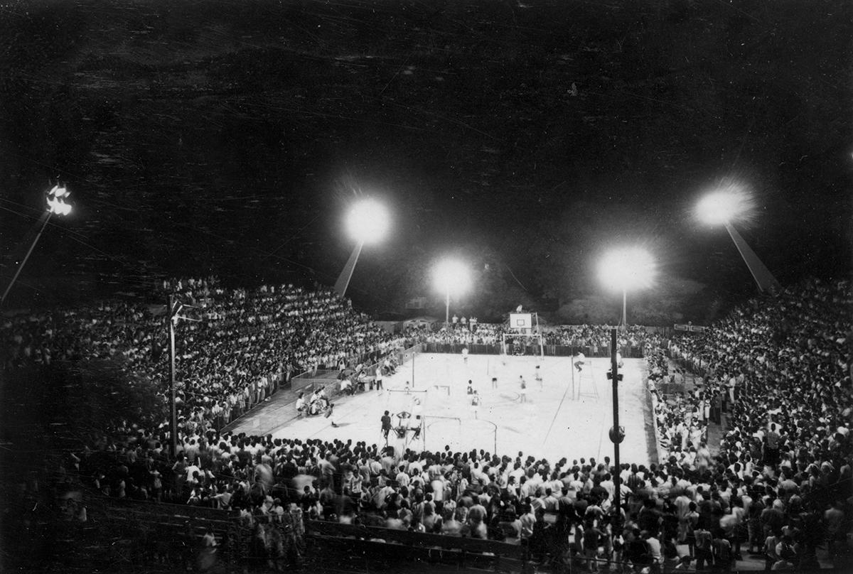 Quadra do CEU, VII Jogos Universitários, 1965.