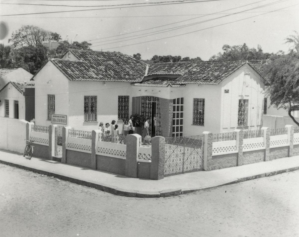 Primeira sede do Centro de Cultura Portuguesa, 1965.