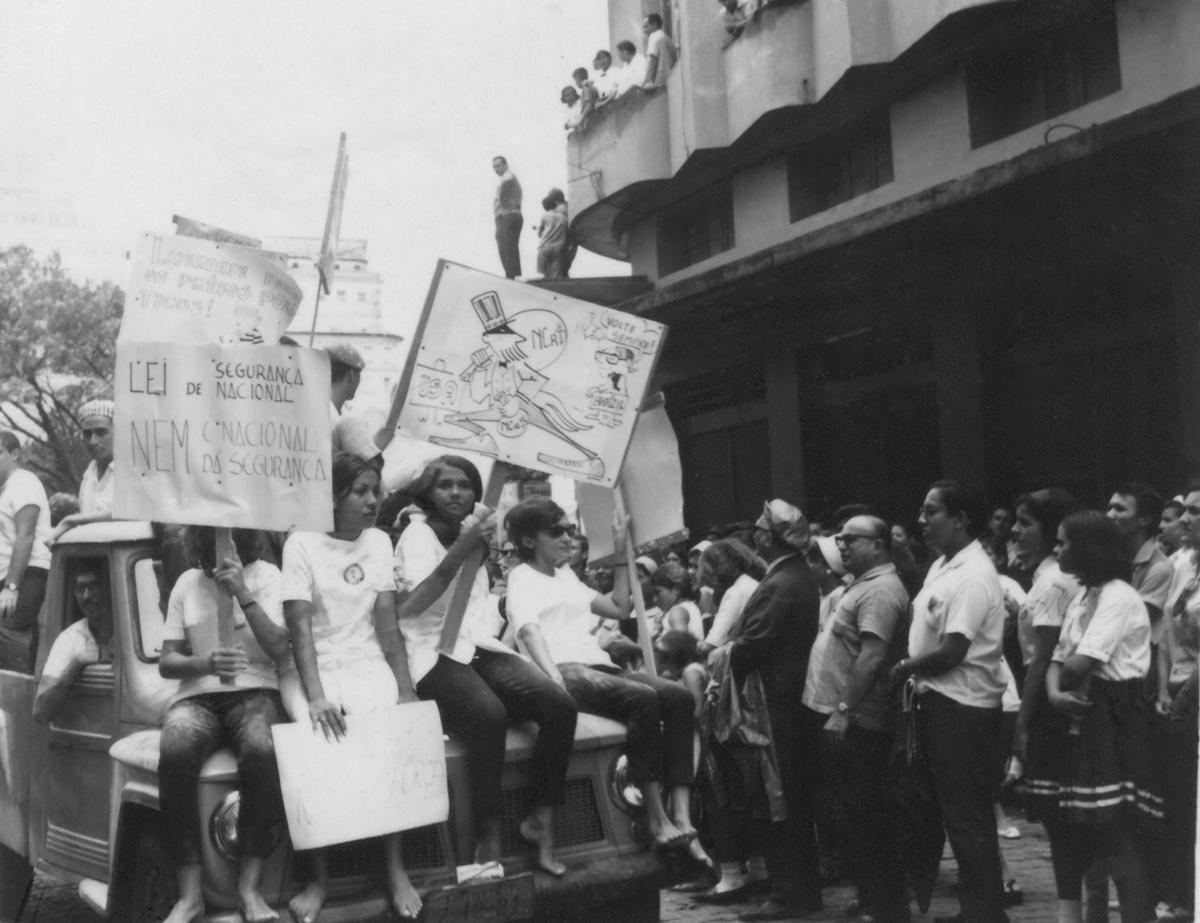 Passeata dos bichos, 1967.