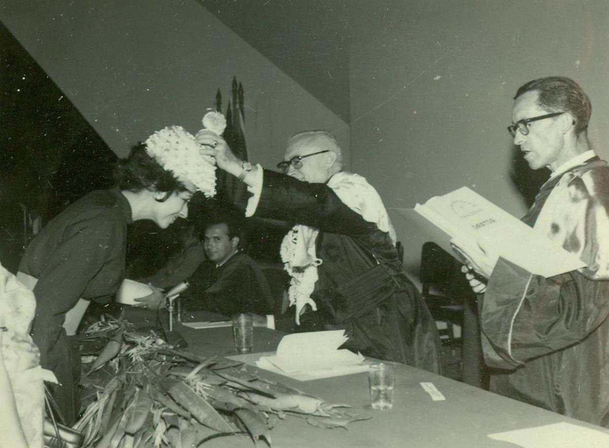 Colação de Grau - Centro de Humanidades - 16.12.1969