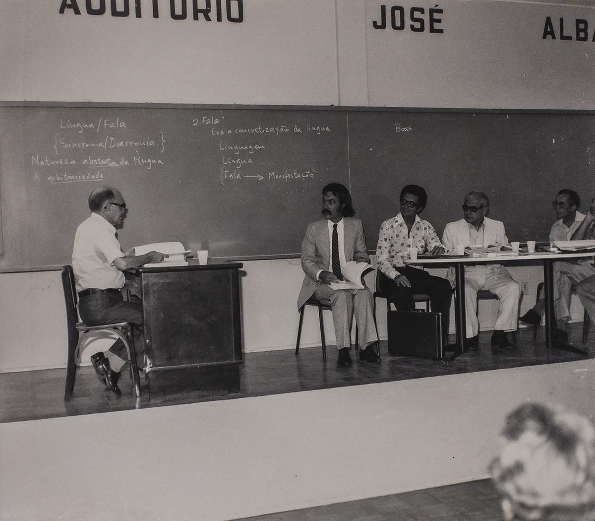 Defesa de mestrado - CH, Auditório José Albano