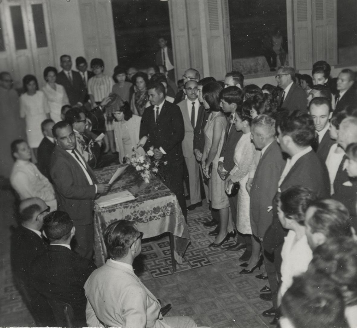 Faculdade Católica de Filosofia (Colação de Grau - 26-12-1964)