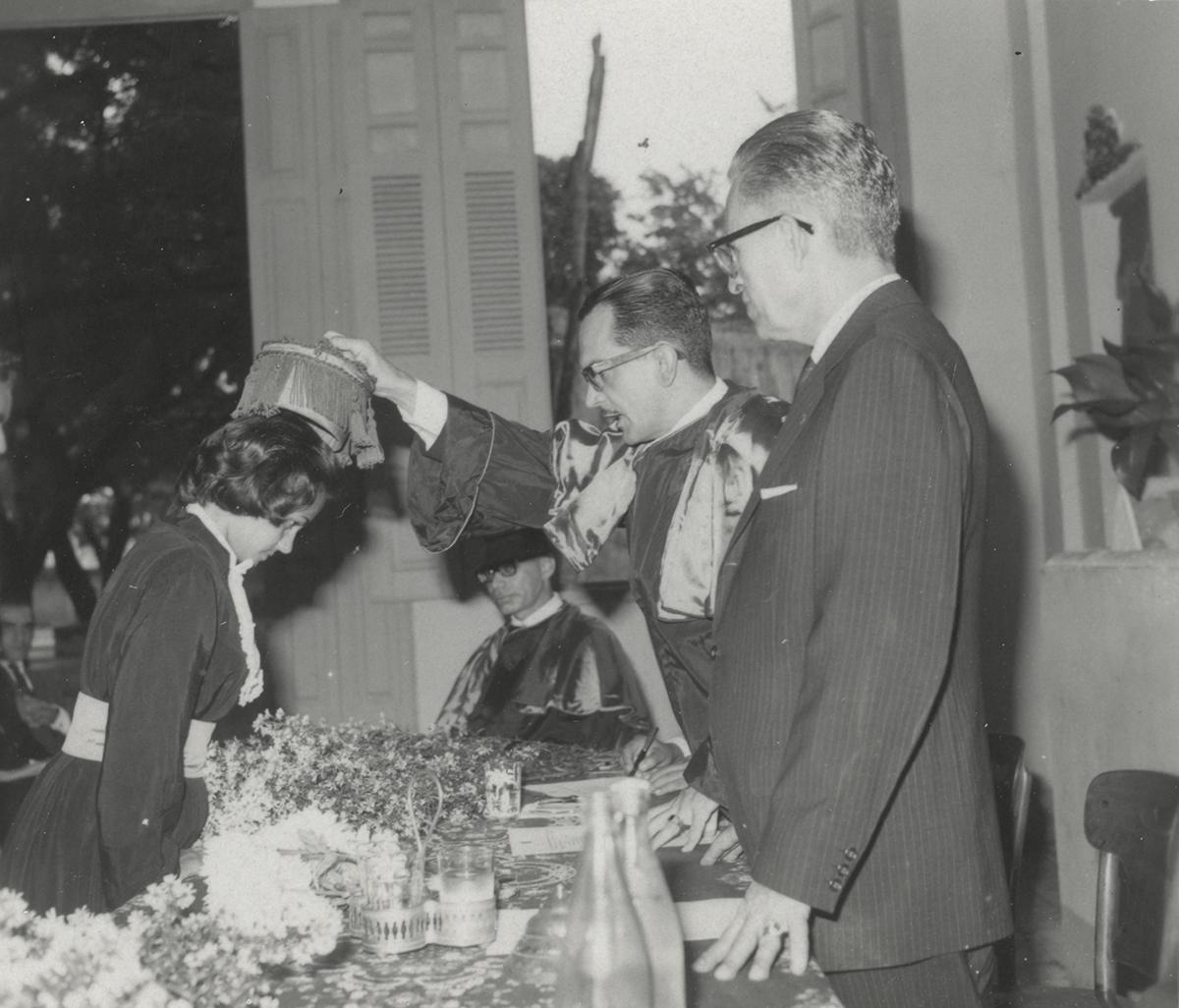 Faculdade de Filosofia Católica (Colação de Grau - 19/12/1963)