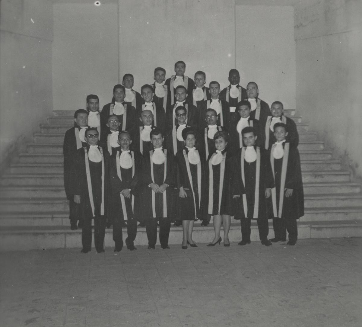 Faculdade de Filosofia do Crato (Solenidade de Colação de Grau - 20-12-1964)