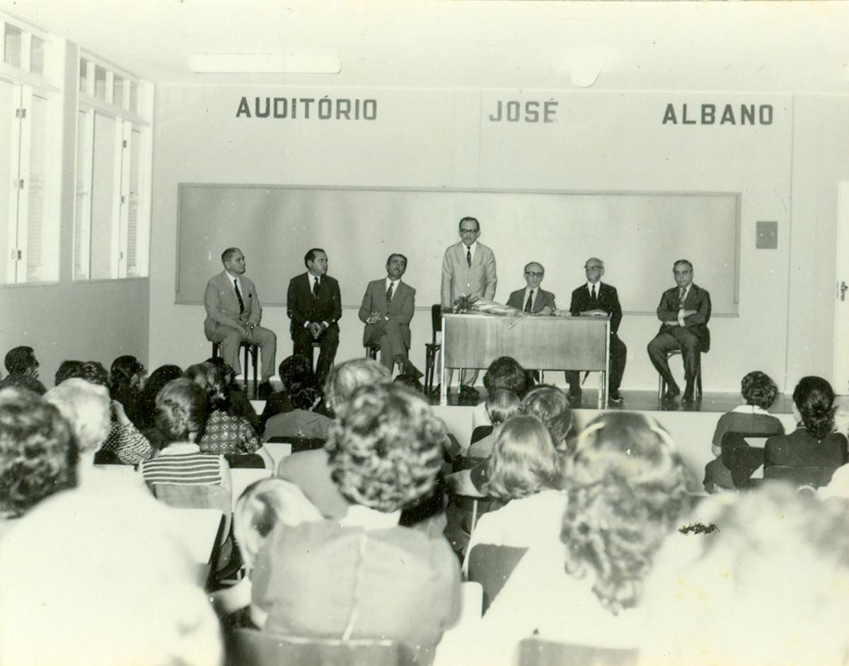Inauguração do Auditório José Albano - 12.071973
