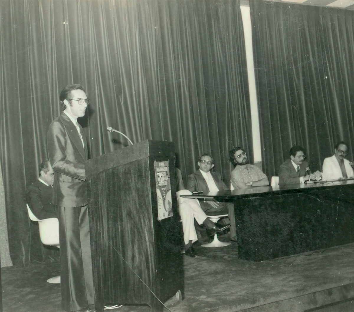 Posse do Diretor do CH - Luiz Tavares Jr. 27.05.1980